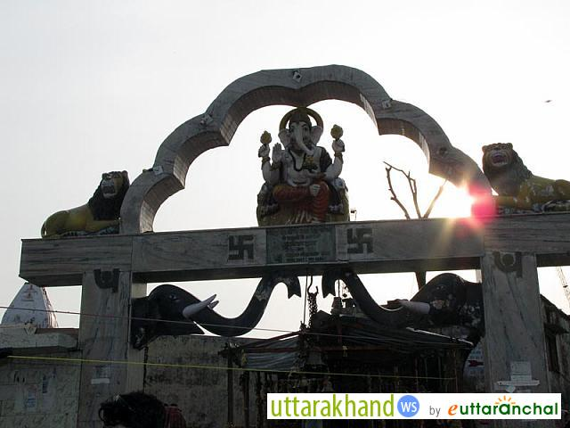 Chandi Devi Temple - Entry Gate Haridwar