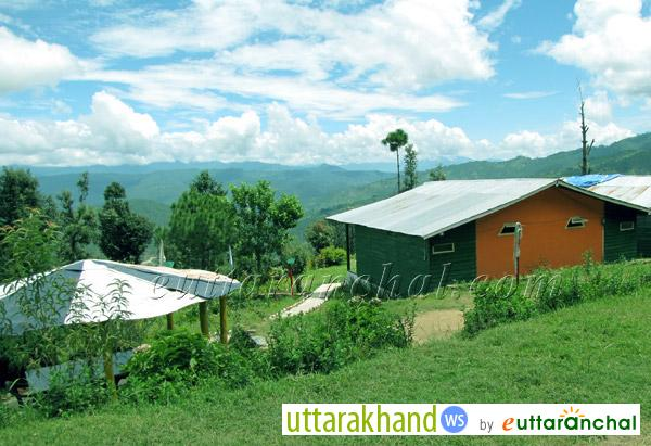 Views from Blossom Resort in Kausani