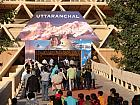 Entrance to Uttarakhand Pavilion